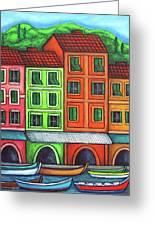 Colours Of Liguria Greeting Card by Lisa  Lorenz