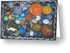 Coltons Marbles Greeting Card
