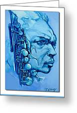 Coltrane Greeting Card