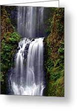 Columba River Gorge Falls 3 Greeting Card
