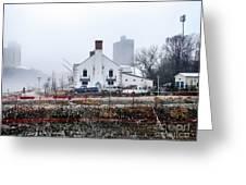 Columbia Boathouse Greeting Card