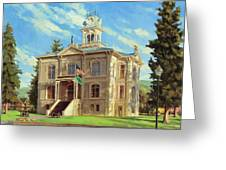 Columbia County Courthouse Greeting Card