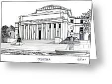 Columbia Greeting Card