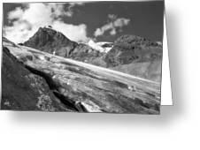 Columbia Ice Field Greeting Card