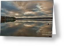 Columbia Lake Greeting Card