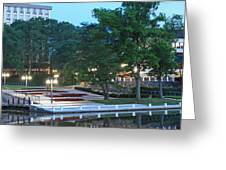 Columbia Lakefront Panorama Greeting Card
