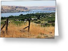 Columbia River - Biggs And Maryhill State Park Greeting Card