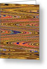 Columbia River Abstract #8045wpsws Greeting Card