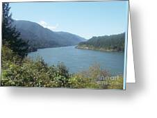 Columbia River Gorge 2 Greeting Card