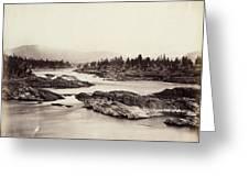 Columbia River: Kettle Falls Greeting Card