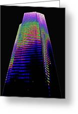 Columbia Tower Seattle Wa Greeting Card