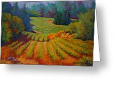 Columbia Valley Vineyard Greeting Card