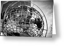 Columbus Circle Globe Greeting Card