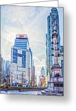 Columbus Circle Greeting Card