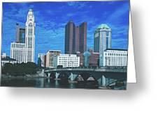 Columbus Ohio Greeting Card