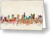 Columbus Ohio Skyline Greeting Card