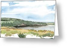 Colyer Lake Greeting Card