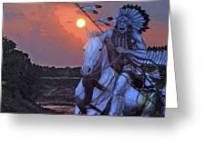 Comanche Spirit Greeting Card