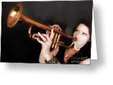 Come Blow Your Horn  ... Greeting Card