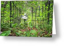Come Into The Woods With Me Greeting Card