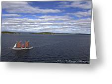 Come Sail Away Greeting Card