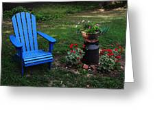 Come Sit  Greeting Card