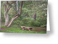 Come Sit With Me Awhile Greeting Card