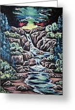 Come Walk With Me 2 Greeting Card