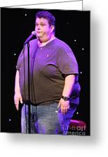 Comedian Ralphie May Greeting Card