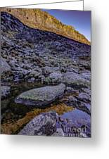 Comeragh Mountains 1 Greeting Card