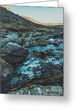 Comeragh River Greeting Card