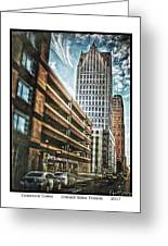 Comerica Tower Greeting Card