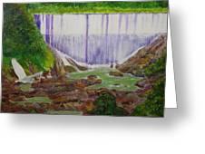 Comerio Dam Greeting Card