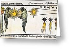 Comet, 1496 Greeting Card