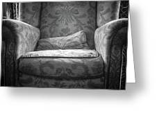 Comfy Chair By The Window Greeting Card