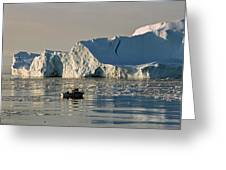 Coming Home - Greenland Greeting Card