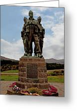 Commando Memorial 2 Greeting Card