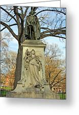 Commodore John Barry Monument Greeting Card