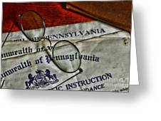 Commonwealth Of Pennsylvania Greeting Card
