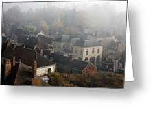 Commune La Roche Guyon Greeting Card