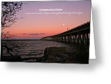 Communication Greeting Card by Pathways Life  Coaching