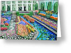 Como Park Conservatory  In St. Paul Greeting Card