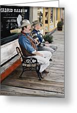 Compadres Greeting Card