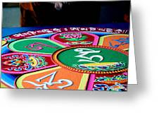 Compassion Mandala Greeting Card