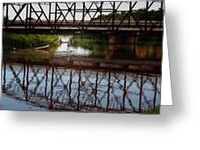 Complex Reflections  Greeting Card