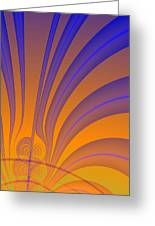 Complimentary Colors Greeting Card