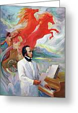 Composer Felix Mendelssohn Greeting Card