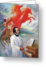 Composer Felix Mendelssohn Greeting Card