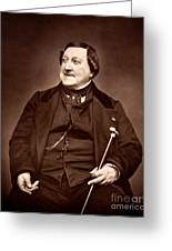 Composer Rossini Greeting Card