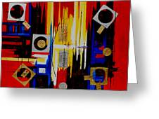 Composition  - 4 - Greeting Card